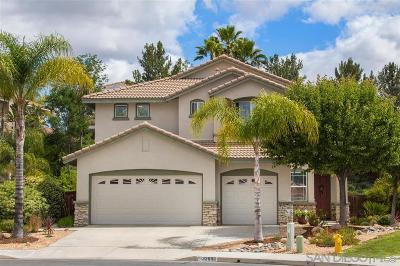 Murrieta, Temecula Single Family Home For Sale: 32886 Adelante