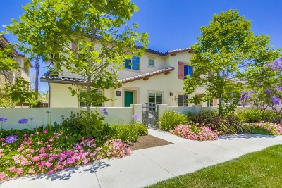 Chula Vista Townhouse For Sale: 1731 Rolling Water Dr #3