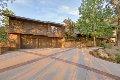 La Mesa Single Family Home For Sale: 4921 Helix Hills Terrace