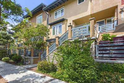 Bankers Hill Townhouse For Sale: 2307 Front Street