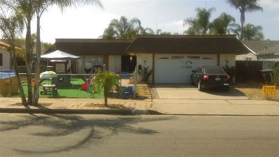 Escondido Single Family Home For Sale: 2151 Holly Avenue