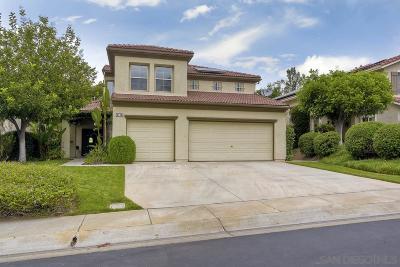 Escondido Single Family Home For Sale: 3124 Amberwood Ln
