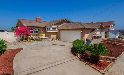 San Diego Single Family Home For Sale: 218 Dolo