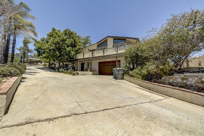 La Mesa Single Family Home For Sale: 9200 Tropico Dr