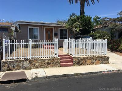 San Diego Single Family Home For Sale: 4778 Dwight Street