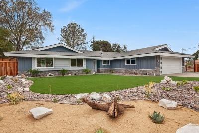 La Mesa Single Family Home For Sale: 10927 Sunray Place