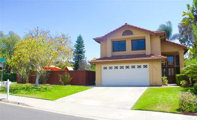 Carlsbad Single Family Home For Sale: 3195 Seabury St