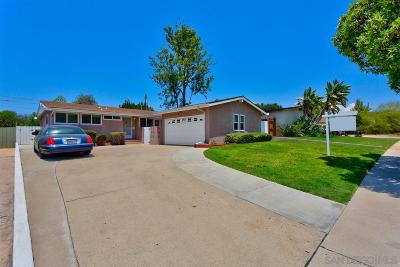San Diego Single Family Home For Sale: 5416 Brunswick Ave