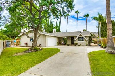 Poway Single Family Home For Sale: 14623 Evening Star Drive