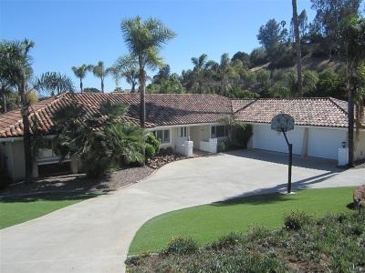 Fallbrook Single Family Home For Sale: 3309 Via Loma