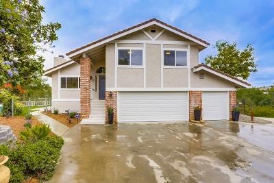 Fallbrook Single Family Home For Sale: 249 Via De Amo