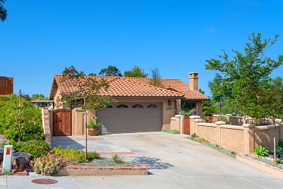 Carlsbad CA Single Family Home For Sale: $984,900