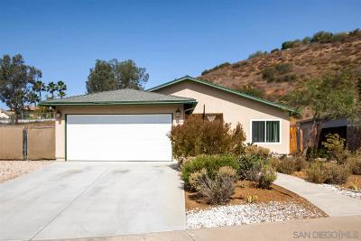Poway Single Family Home For Sale: 13646 Los Olivos Ave