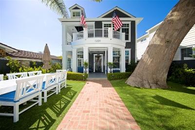 Coronado Single Family Home For Sale: 1220 Churchill Place