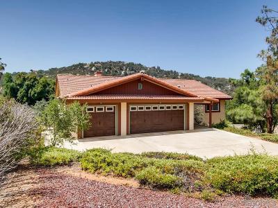 Escondido CA Single Family Home For Sale: $655,000