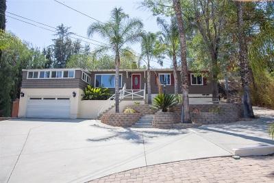 La Mesa Single Family Home For Sale: 4116 Bancroft Dr