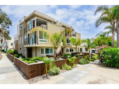 San Diego Townhouse For Sale: 804 Ostend Court