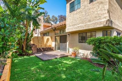 San Diego Townhouse For Sale: 3660 Caminito Cielo Del Mar