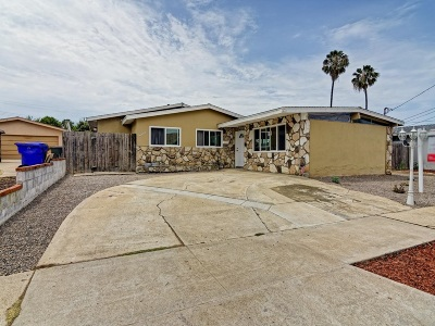 Clairemont Mesa CA Single Family Home For Sale: $675,000