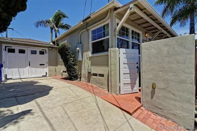 San Diego Single Family Home For Sale: 2226 Myrtle Ave