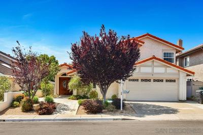 San Diego CA Single Family Home For Sale: $985,000