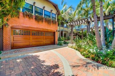 Coronado Single Family Home For Sale: 1034 Loma Avenue