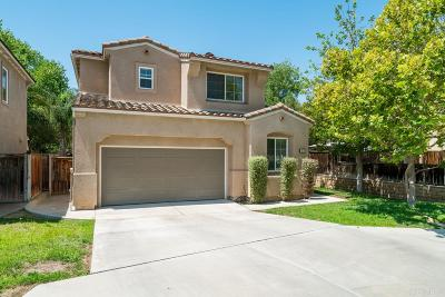 Escondido Single Family Home For Sale: 1073 Crystal Springs Pl.