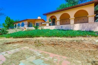 Escondido CA Single Family Home For Sale: $675,000