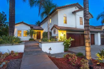San Diego CA Single Family Home For Sale: $885,000