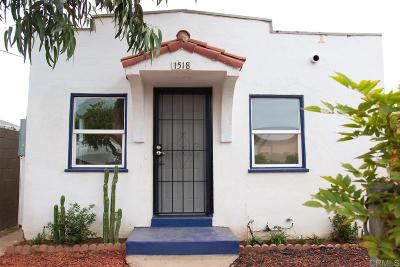 Single Family Home Back On Market: 1518 Roosevelt Ave