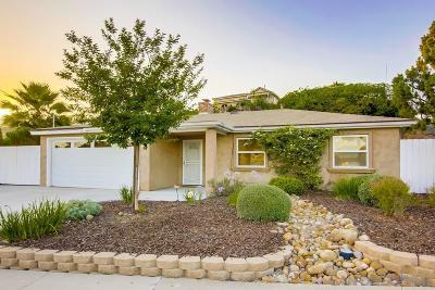 La Mesa Single Family Home For Sale: 8748 Mellmanor Dr
