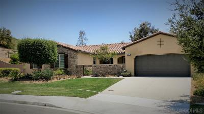 Chula Vista Single Family Home For Sale: 1850 Corte Galeana