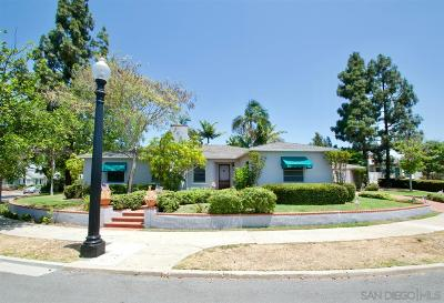 San Diego CA Single Family Home For Sale: $749,000