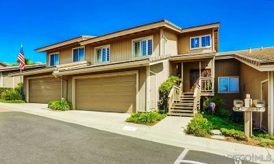 Escondido CA Townhouse For Sale: $509,000