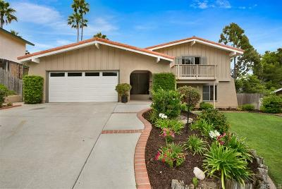 Carlsbad Single Family Home For Sale: 4903 Neblina Dr