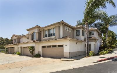 Oceanside Townhouse For Sale: 1291 El Mercado #D