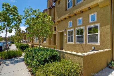 San Diego Townhouse For Sale: 7750 Via Francesco #1