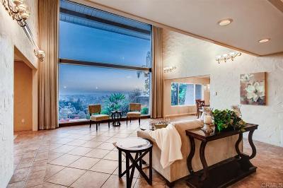 La Mesa Single Family Home For Sale: 4310 Mount Helix Highlands Dr