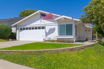 Escondido Single Family Home For Sale: 2220 N Iris Ln