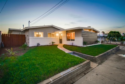 San Diego CA Single Family Home For Sale: $724,900