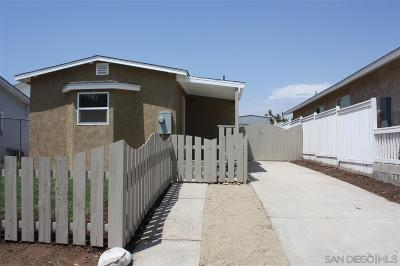 San Diego CA Single Family Home For Sale: $359,000