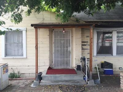 San Diego Single Family Home For Sale: 528 Denby St