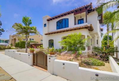 San Diego CA Single Family Home For Sale: $1,795,000
