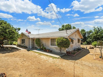 Riverside County Single Family Home For Sale: 16805 Duckworth Ave
