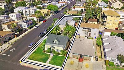 San Diego Multi Family 5+ For Sale: 3791 Arnold Ave