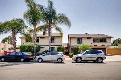 San Diego Attached For Sale: 4415 38th #5