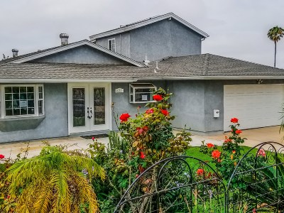 Chula Vista Single Family Home For Sale: 821 David Drive