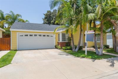 Chula Vista Single Family Home For Sale: 2060 Waterbury