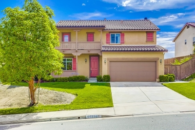 Riverside County Single Family Home For Sale: 37736 Summer Wind Ct