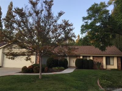 Poway Single Family Home For Sale: 13132 Tawny Way